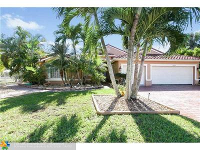 Pembroke Pines Single Family Home For Sale: 18920 SW 16th St