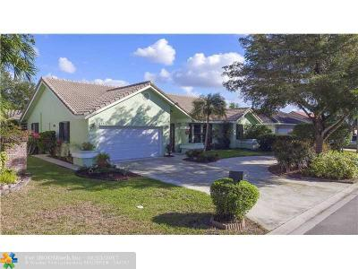 Coral Springs Single Family Home Sold: 5159 NW 59th Way