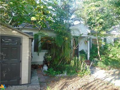 Fort Lauderdale Single Family Home For Sale: 417 SE 22 Street