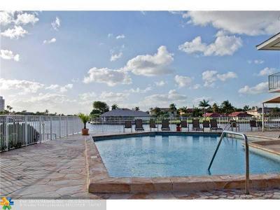 Hallandale Condo/Townhouse For Sale: 3161 S Ocean Dr #602