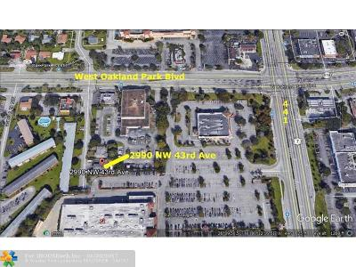 Lauderdale Lakes Commercial Backup Contract-Call LA: 2990 NW 43rd Ave