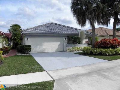 Boca Raton Single Family Home For Sale: 21382 Green Hill Ln