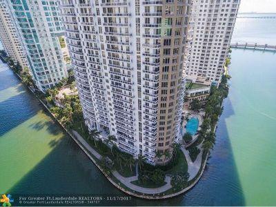 Miami Condo/Townhouse For Sale: 901 Brickell Key Blvd #1405