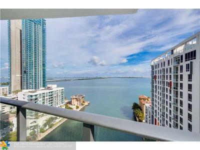 Miami Condo/Townhouse For Sale: 460 NE 28th St #1708