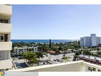 Condo/Townhouse Sold: 3015 N Ocean Blvd. #9L