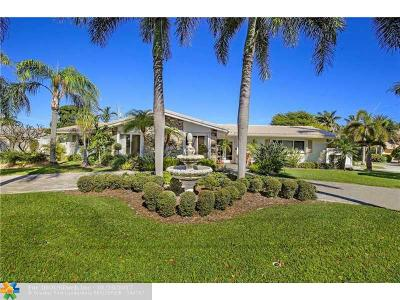 Lighthouse Point Single Family Home Backup Contract-Call LA: 3061 NE 33rd St