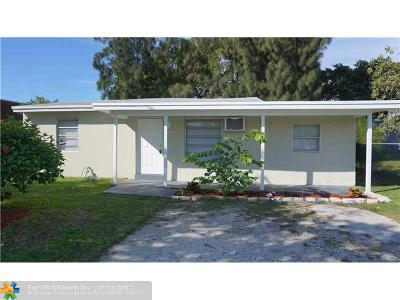 Fort Lauderdale Single Family Home For Sale: 741 NW 4th Ave