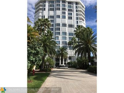 Lauderdale By The Sea Condo/Townhouse For Sale: 1440 S Ocean Bl #5b