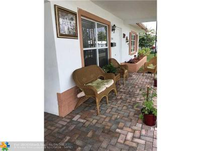 Tamarac Single Family Home For Sale: 8406 NW 59 Ct