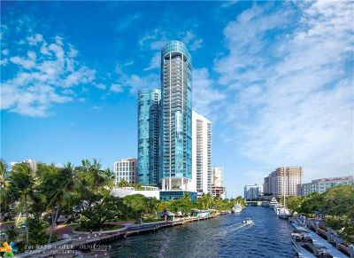 Broward County Condo/Townhouse For Sale: 333 Las Olas Way #3507