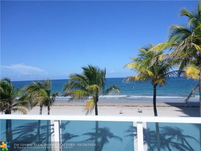 Pompano Beach Condo/Townhouse For Sale: 1360 S Ocean Blvd #308