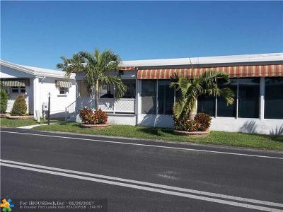Hallandale Single Family Home For Sale: 101 E Lake Shore Dr