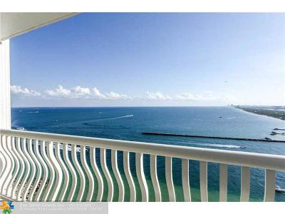 Fort Lauderdale Condo/Townhouse For Sale: 2200 S Ocean Ln #2304