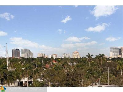 Fort Lauderdale Condo/Townhouse For Sale: 1770 E Las Olas Blvd #607