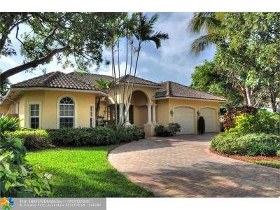 Pompano Beach Single Family Home For Sale: 3202 Norfolk St