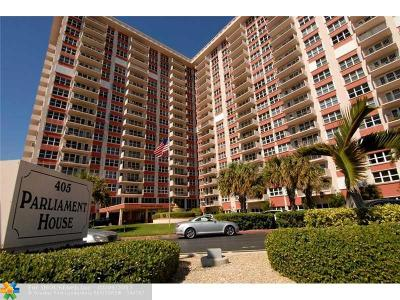 Pompano Beach Condo/Townhouse For Sale: 405 N Ocean Blvd #323