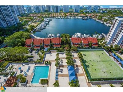 Aventura Condo/Townhouse For Sale: 3640 Yacht Club Dr #PH-8