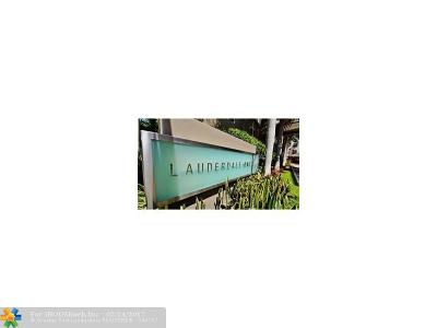 Fort Lauderdale Condo/Townhouse For Sale: 2421 NE 65th St #214