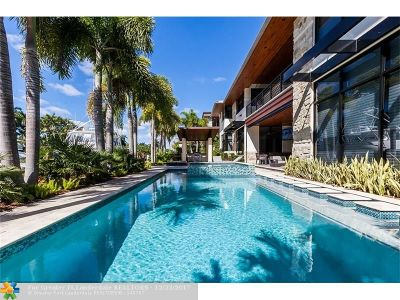 Fort Lauderdale Single Family Home For Sale: 615 Royal Plaza Dr
