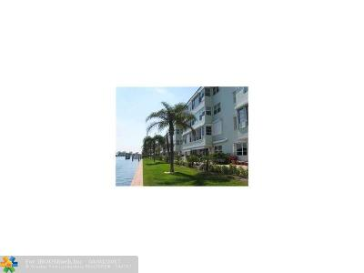 Lighthouse Point Condo/Townhouse For Sale: 2772 NE 30th Ave #8A