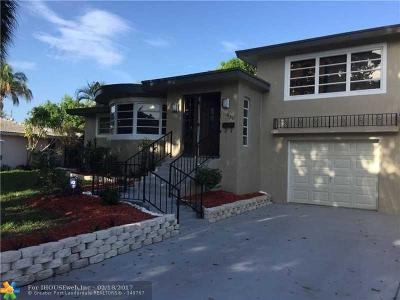Boca Raton Single Family Home For Sale: 950 NW 17th Ave