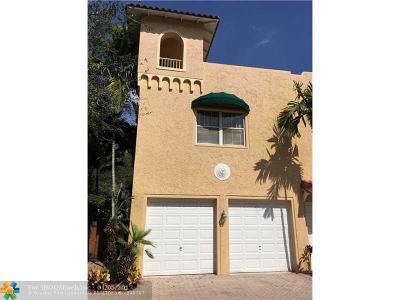 Fort Lauderdale Condo/Townhouse Backup Contract-Call LA: 634 NE 13th Ave #634