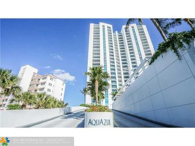 Broward County Condo/Townhouse For Sale: 1600 S Ocean Blvd #604