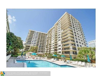 Lauderdale By The Sea Condo/Townhouse For Sale: 1800 S Ocean Blvd #1501