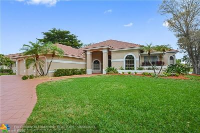 Coral Springs FL Single Family Home For Sale: $874,500