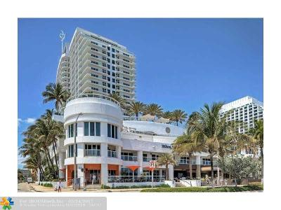Fort Lauderdale Condo/Townhouse For Sale: 505 N Ft Lauderdale Bch Bl #1901