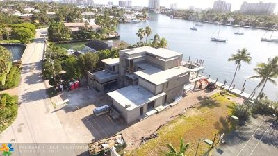 Fort Lauderdale Single Family Home For Sale: 1408 W Lake Dr