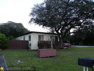 Miramar Multi Family Home Backup Contract-Call LA: 6151 SW 35th St