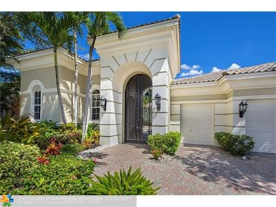 Delray Beach Single Family Home For Sale: 7629 Bella Verde Way
