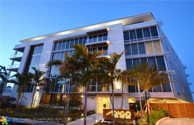Fort Lauderdale Condo/Townhouse For Sale: 1110 Seminole Drive #201