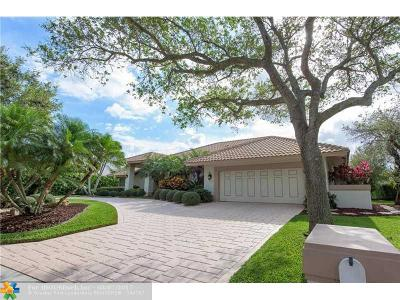 Coral Springs Single Family Home For Sale: 1795 Eagle Trace Blvd