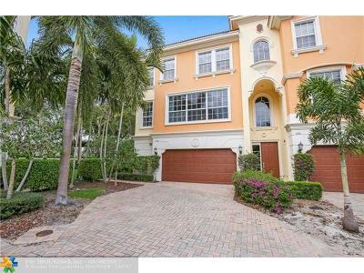 Boca Raton Condo/Townhouse For Sale: 5755 NE Verde Cir #5755