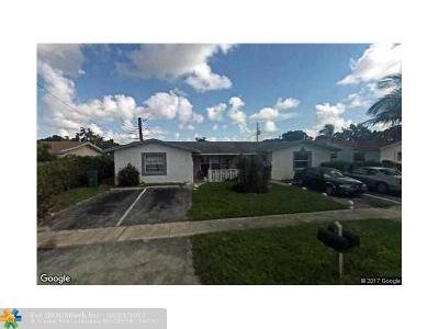 Lauderhill Multi Family Home For Sale: 5941 NW 19th Ct