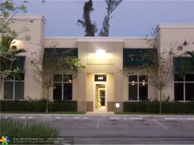 Coconut Creek Commercial For Sale: 5485 Wiles Rd #405