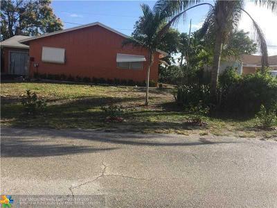 Boynton Beach Single Family Home For Sale: 206 SW 5th Ave