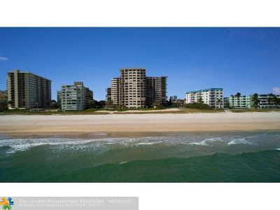 Lauderdale By The Sea Condo/Townhouse For Sale: 1800 S Ocean Bl #1207