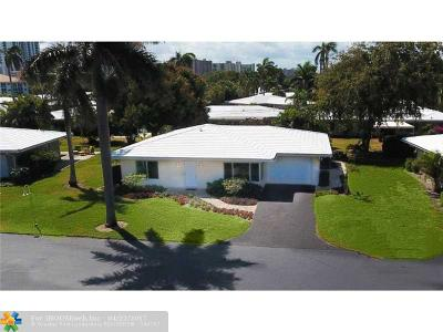 Lauderdale By The Sea Single Family Home For Sale: 1431 S Ocean Blvd