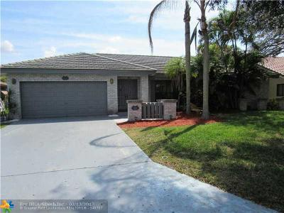Coral Springs Single Family Home Sold: 5527 NW 60th Dr