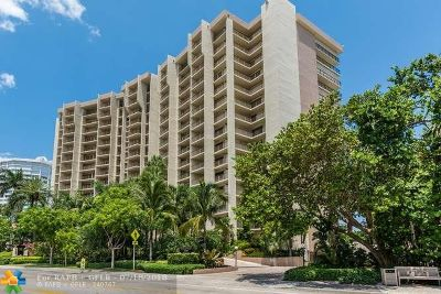 Lauderdale By The Sea Condo/Townhouse For Sale: 1800 S Ocean Blvd #910