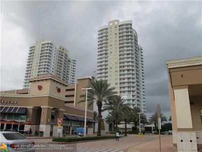 Hallandale Condo/Townhouse For Sale: 1745 E Hallandale Beach Blvd #1007W