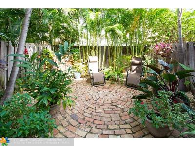 Fort Lauderdale Condo/Townhouse For Sale: 3053 NE 49th St #3053