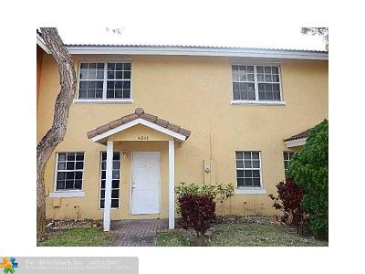 Broward County Condo/Townhouse For Sale: 6802 Sienna Club Dr #6802