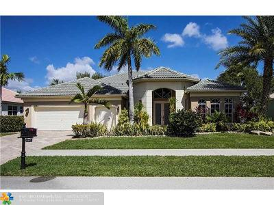 Davie Single Family Home For Sale: 8443 N Lake Forest Dr