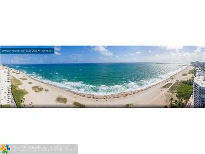 Pompano Beach Condo/Townhouse Backup Contract-Call LA: 730 N Ocean Blvd #1402