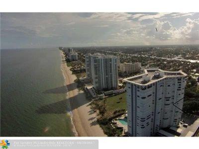 Pompano Beach Condo/Townhouse For Sale: 1340 S Ocean Blvd #407