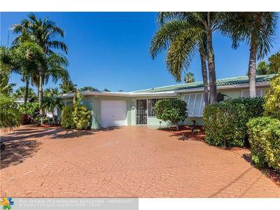 Pompano Beach Single Family Home Backup Contract-Call LA: 101 SE 14th St